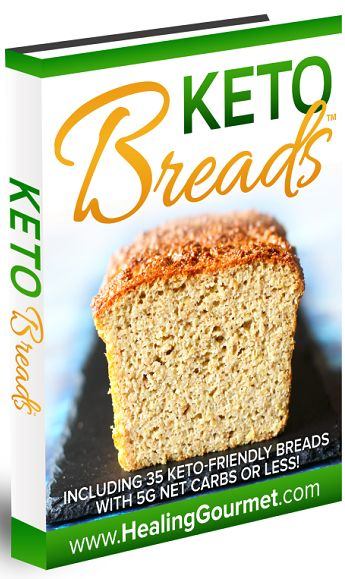 Keto Breads book cover